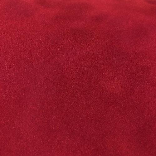 Sammetslik - Röd