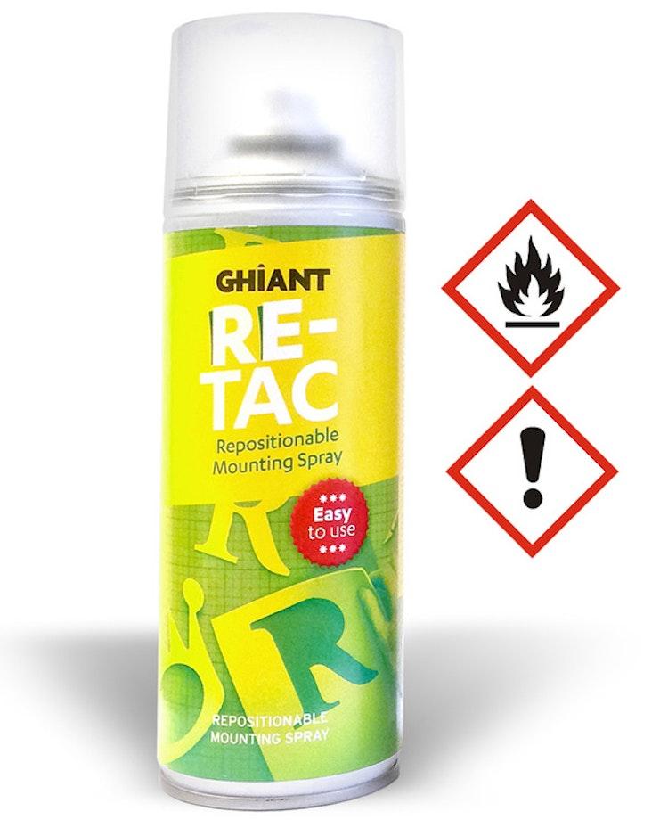 Re-tac återhäftningsbart lim