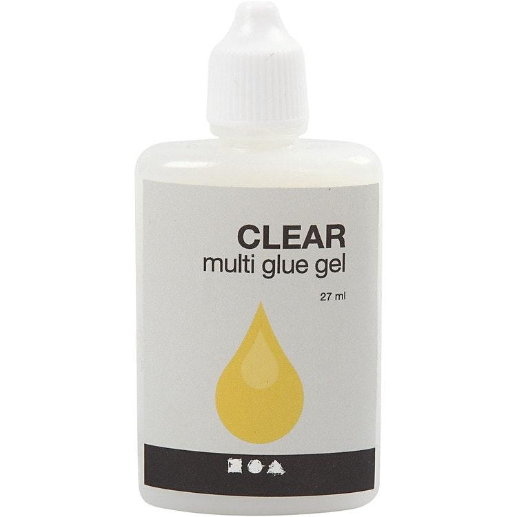 Clear multi glue gel