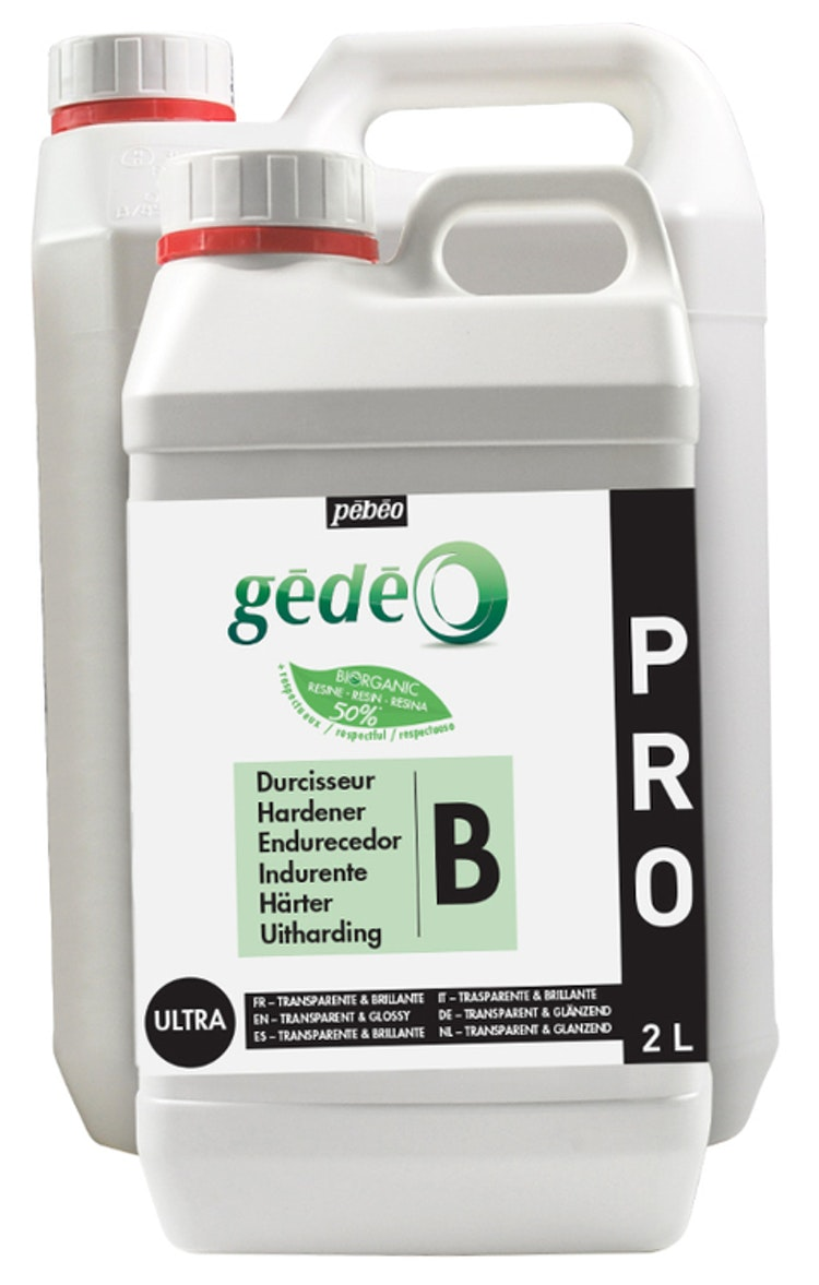 Resin Epoxi Pebeo Crystal Resin Biorganic kit 6 liter