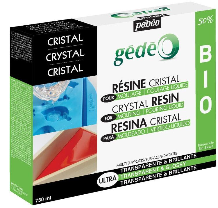 Resin Epoxi Pebeo Crystal Resin Biorganic kit 750 ml