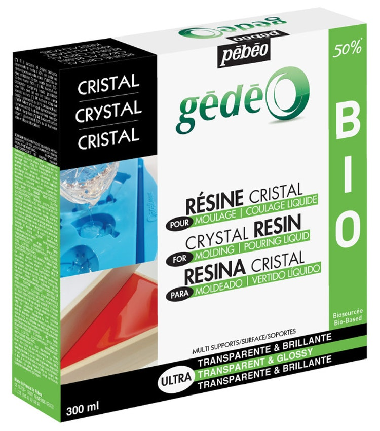 Resin Epoxi Pebeo Crystal Resin Biorganic kit 300 ml