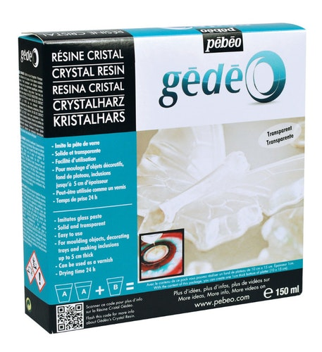 Resin Epoxi Pebeo Crystal Resin kit