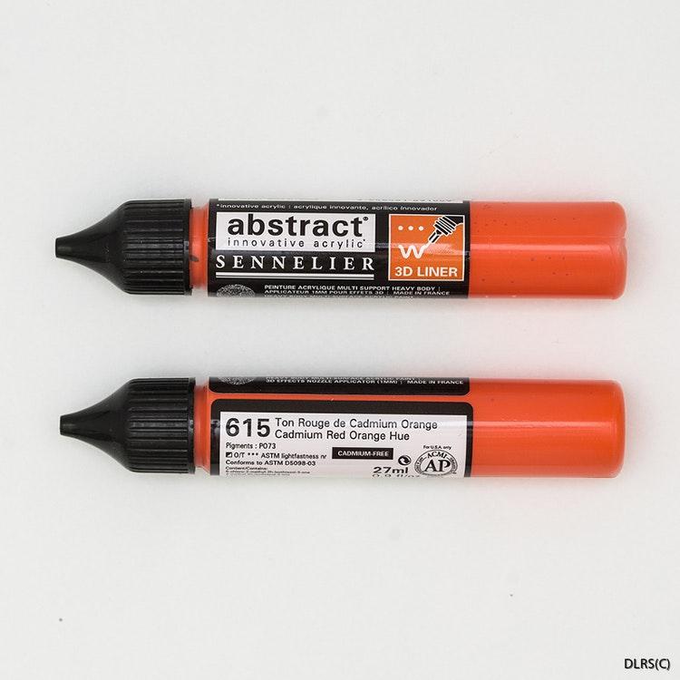 3D liner - Cadmium Röd orange 28ml