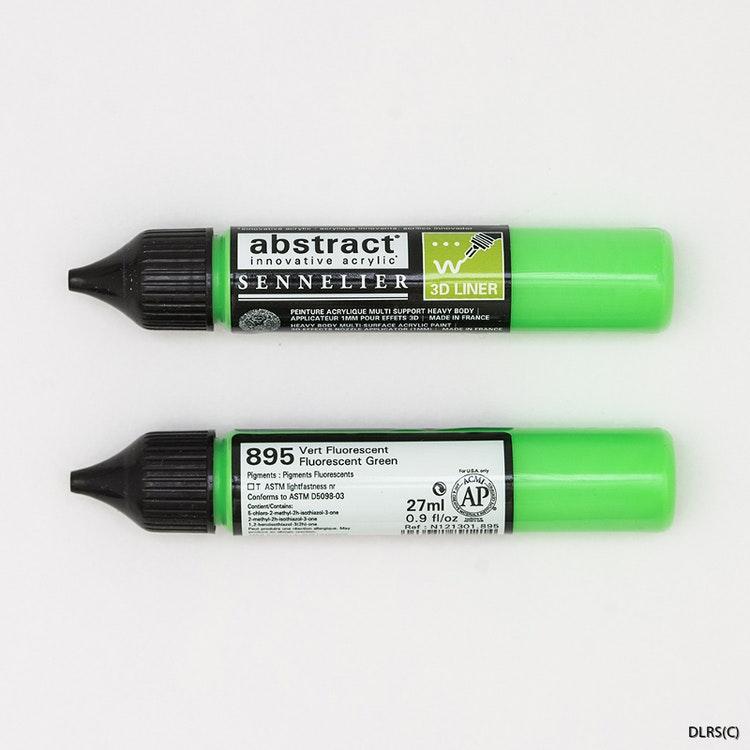 3D liner - Neongrön 28ml