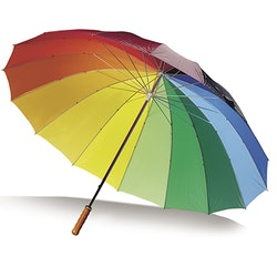 Paraply - Regnbåge