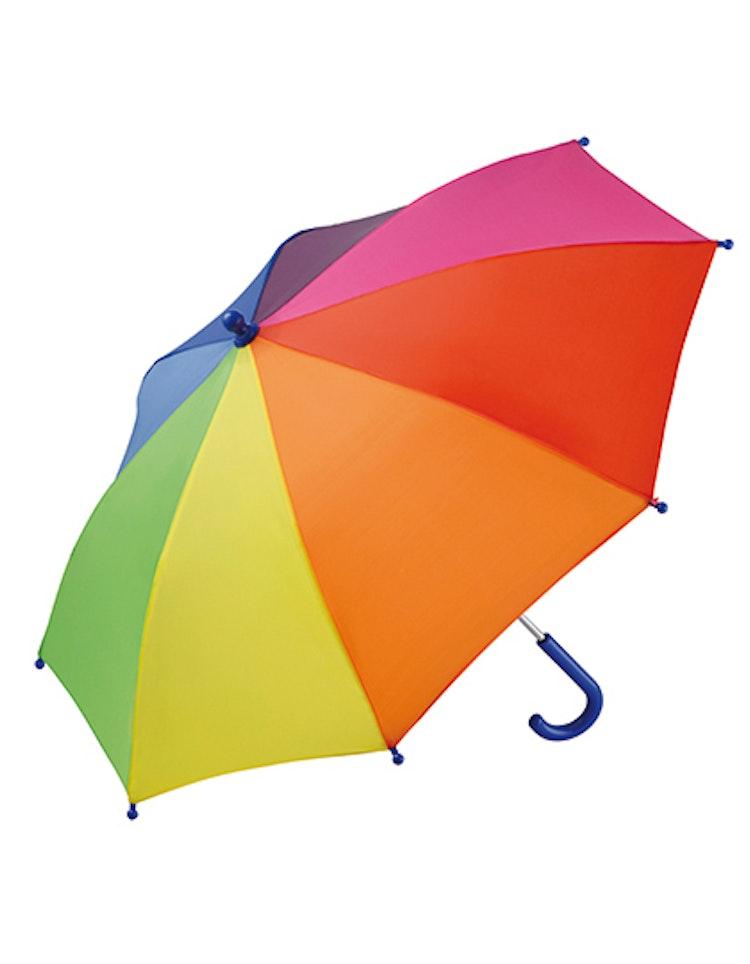 Barn Paraply - Regnbåge