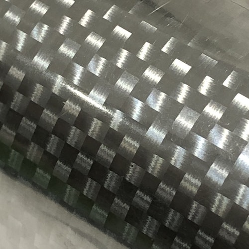 Hot stamping foil - Silver Carbon