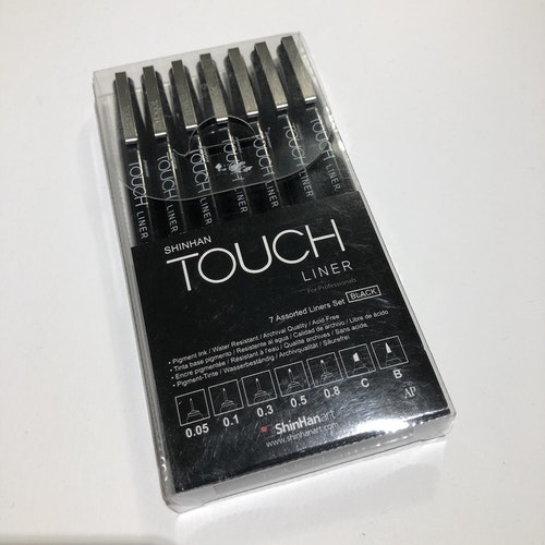 Touch Fineliner Svart