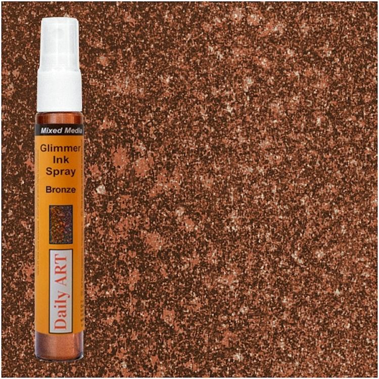 Glimmer Ink Spray - Bronze