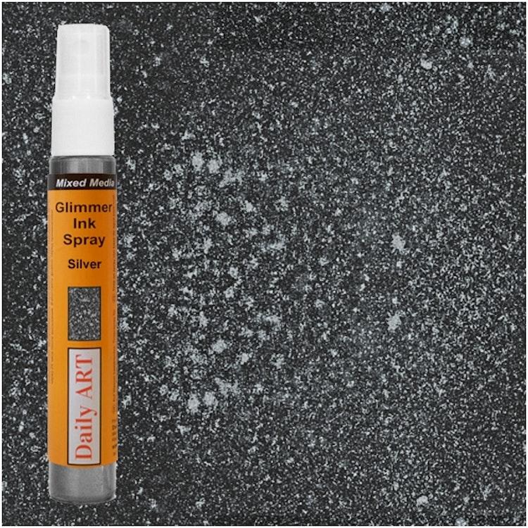 Glimmer Ink Spray - Silver
