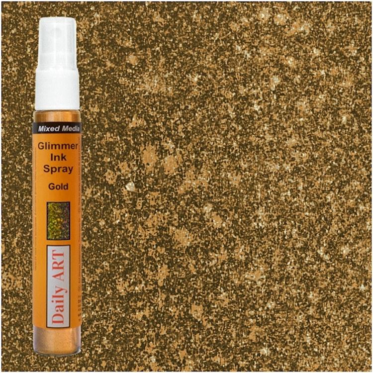 Glimmer Ink Spray - Gold