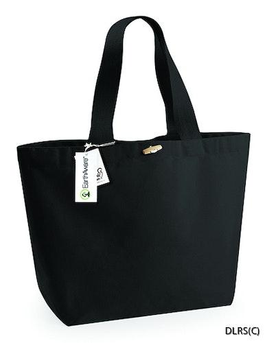 Strandbag - Strandväska med knapp