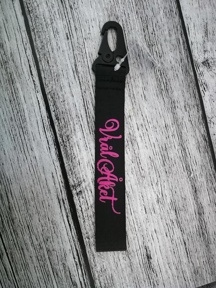 Nyckelband - Svart