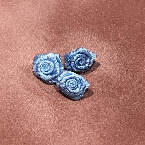 Satinblomma - ljusblå