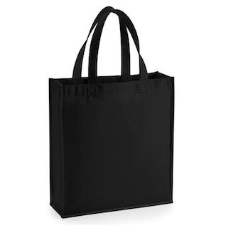 Gallery Canvas Gift Bag - Svart