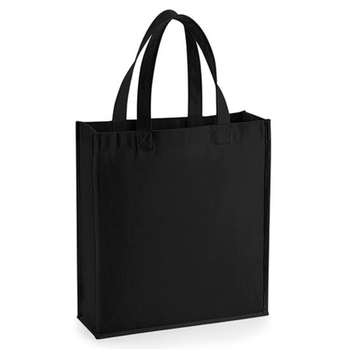 Gallery Canvas Gift Bag - Svart