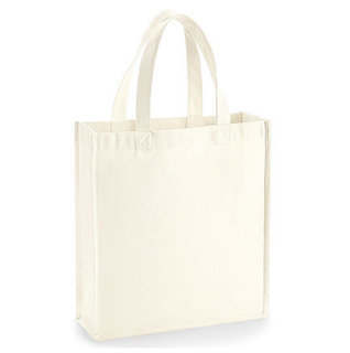 Gallery Canvas Gift Bag - Natur