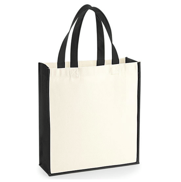 Gallery Canvas Gift Bag - Tvåfärgad