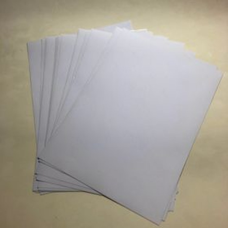 Etikettpapper ark 20 pack