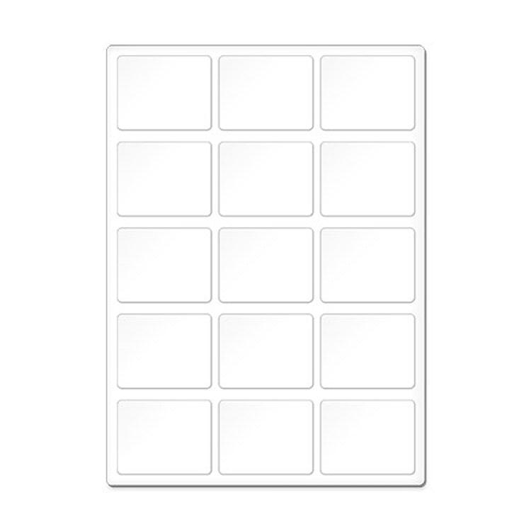Memory - Kort för sublimering.