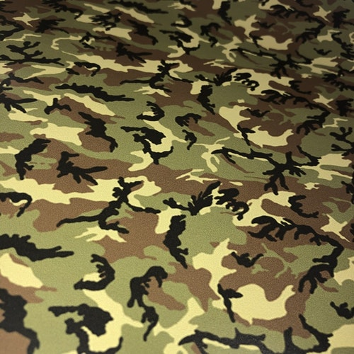 Siser Easy Patterns - Camo Green