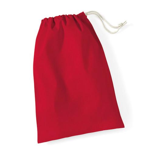 Tygsäckar-Röd XL