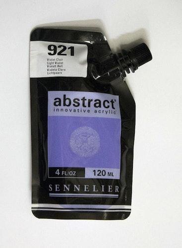 Akrylfärg Sennelier Abstract - Hög pigmentering - Violet Clair 921