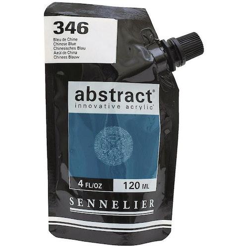 Akrylfärg Sennelier Abstract - Hög pigmentering - Bleu De Chine 346