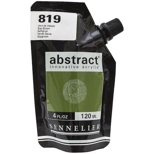 Akrylfärg Sennelier Abstract - Hög pigmentering - Vert De Vessie 819