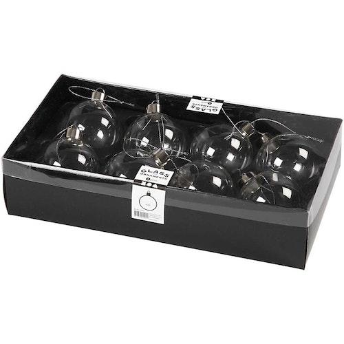 Julkulor av glas - 48 kulor