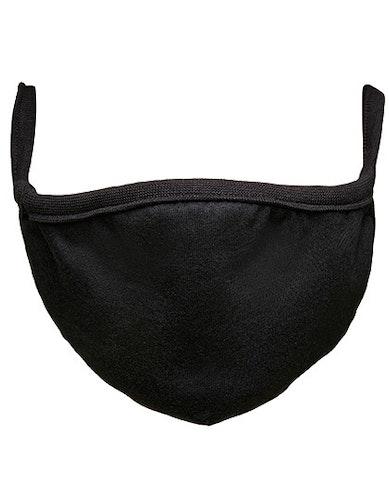 Munskydd - 100% bomull med ficka Medium - Large