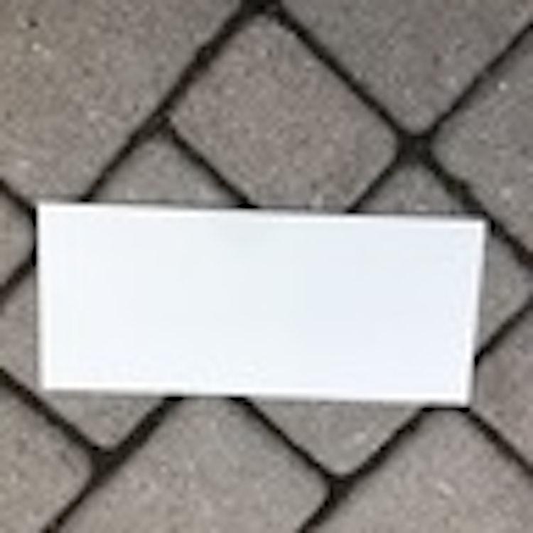 Dekorationstavla i plåt - 30*13 cm