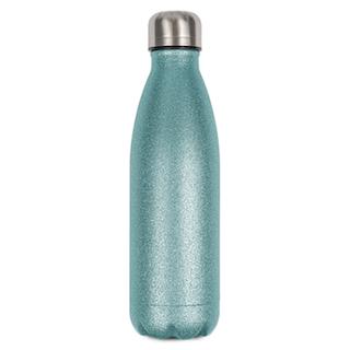 Glittergrön Termoflaska -  500 ml