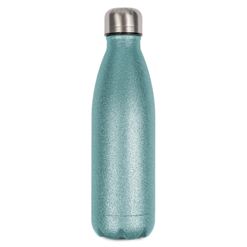 Glittergrön Termosflaska -  500 ml