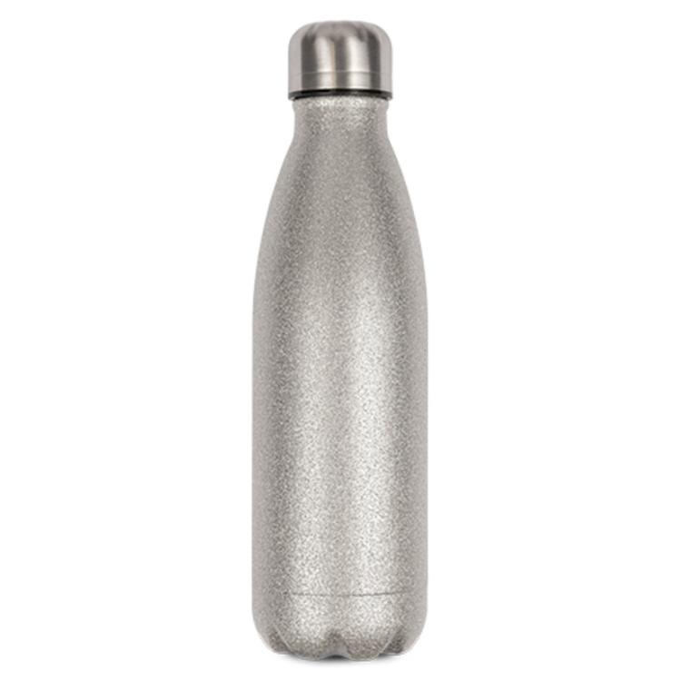Glittersilver Termosflaska -  500 ml