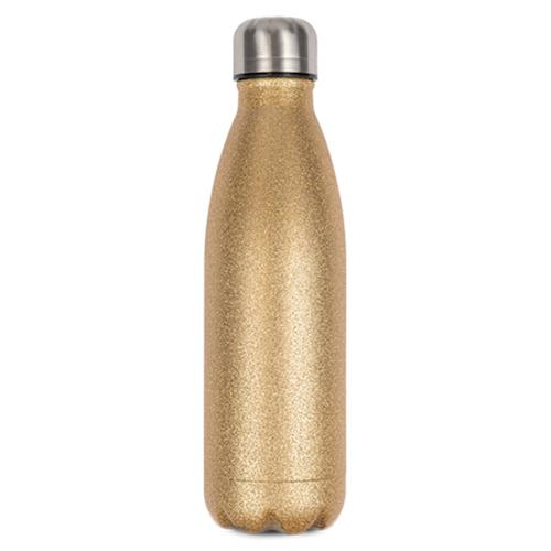 Glitterguld Termosflaska -  500 ml
