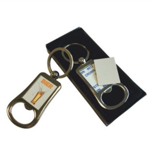 Nyckelring med flasköppnare