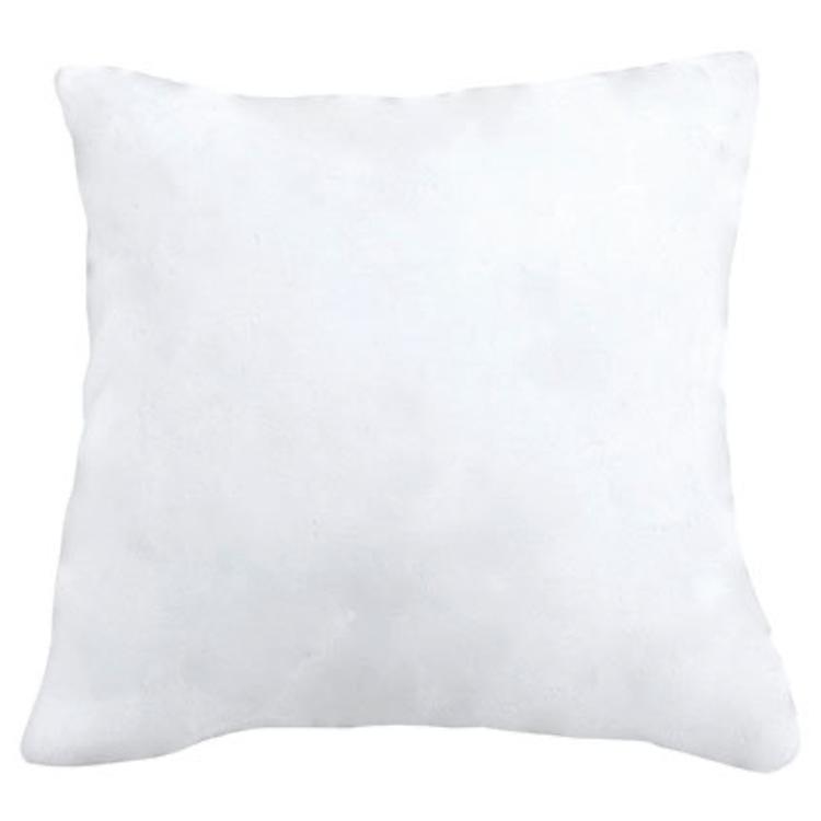 Mikorfleece kuddfodral - Vit/Beige/Ljusgrå