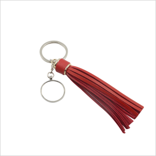 Nyckelring - Red tassel