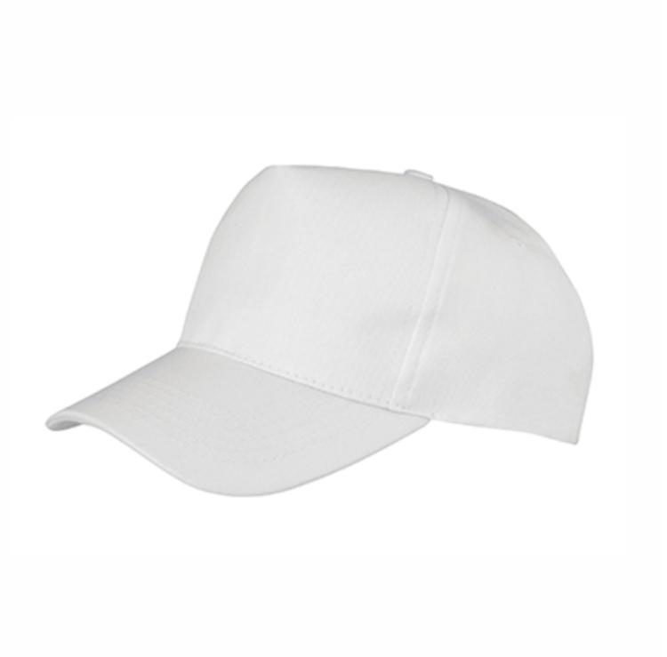 Baseball caps - Barn vit - Sublimerbar