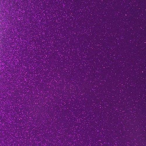 Transparent Glitter - Violett