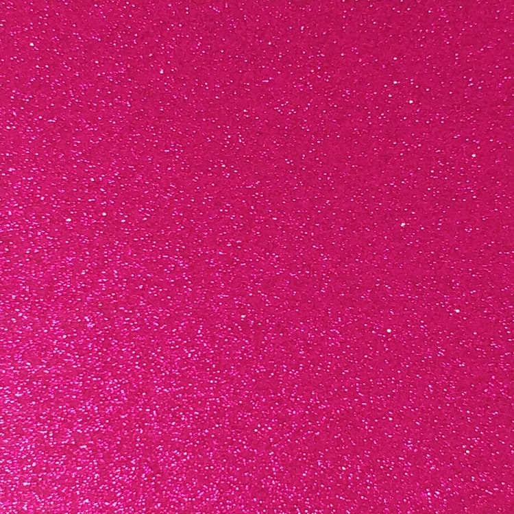 Transparent Glitter - Magenta