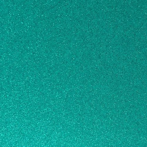 Transparent Glitter - Teal