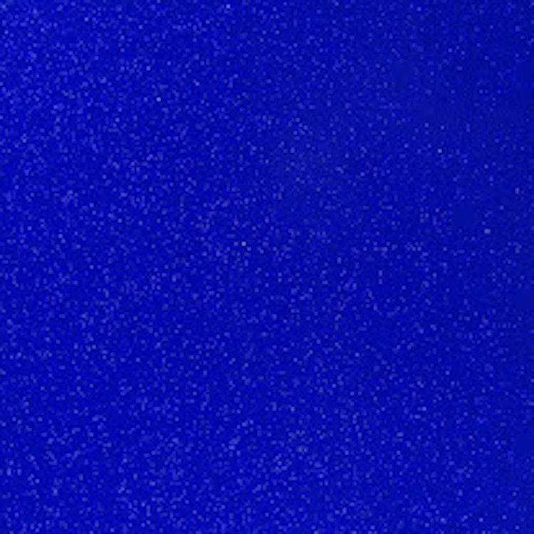Transparent Glitter - Kungsblå