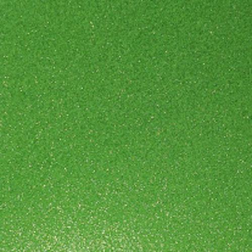 Transparant Glitter - Lime