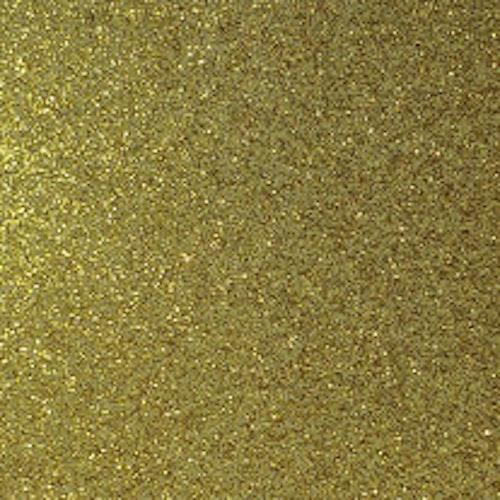 Transparant Glitter - Guld