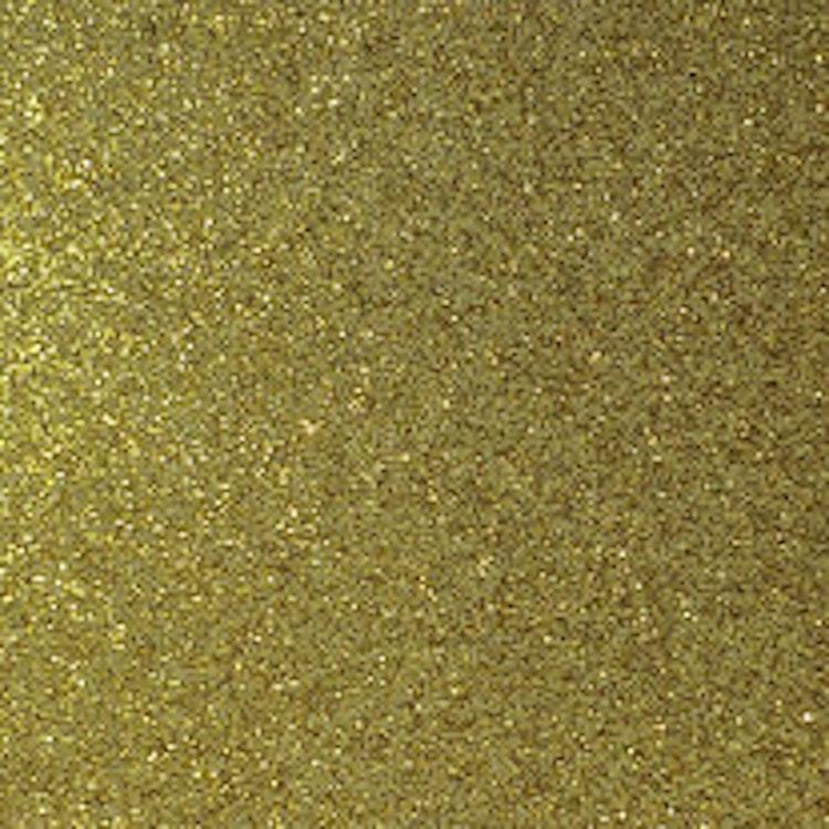 Transparent Glitter - Guld