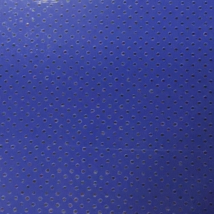 PU Perforerad - Royal blue