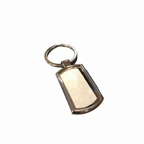 Nyckelring  Mjuk rektangel